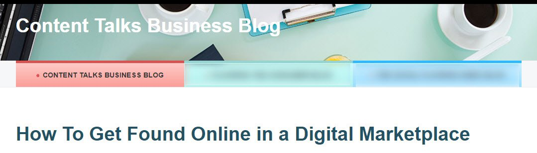 Subscribe to the Content Talks Business Blog!